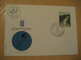 BEOGRAD 1972 PLANICA Jumping Ski Jumps Sauts Skiing FDC Cancel Cover YUGOSLAVIA - Sci