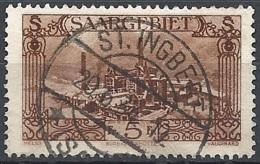 Sarre, 1927, Burbach Steelworks, 5fr # Michel 121 - Scott 134 - Yvert 120  USED - 1920-35 Saargebiet – Abstimmungsgebiet