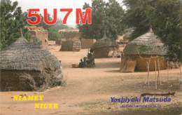 QSL - NIAMEY NIGER - 1992 - Radio Amateur