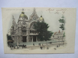 PARIS  -  PRECURSEUR DE 1901  -  EXPOSITION UNIVERSELLE  -   L'ITALIE        TIMBRE TYPE SAGE       TTB - Expositions