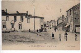 Les Essarts : La Rue De La Gare - Les Essarts