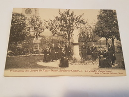 A 975 - Pensionnat Des Soeurs De Notre Dame Braine Le Comte. Le Jardin D'agrément - Braine-le-Comte