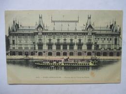 PARIS  -  PRECURSEUR DE 1901  -  EXPOSITION UNIVERSELLE  -   PALAIS DE LA VILLE DE PARIS      TIMBRE TYPE SAGE       TTB - Expositions