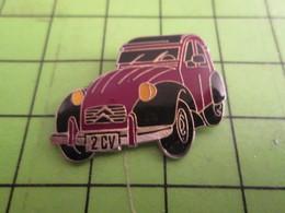 716a Pin's Pins / Beau Et Rare / THEME AUTOMOBILES : SUPERBE 2CV CITROEN CHARLESTON - Citroën