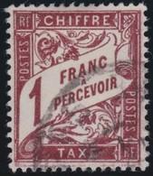 France  .      Yvert    .      Taxe   25  ( 2 Scans )        .     O         .         Oblitéré - Postage Due
