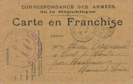 CPA - Themes - Militaria - France -  Correspondance Des Armées De La République - Autres