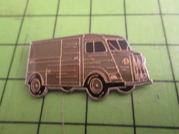 716a Pin's Pins / Beau Et Rare / THEME AUTOMOBILES : FOURGON EN TOLE ONDULEE DE CITROEN - Citroën