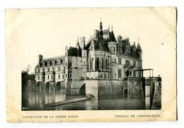CPA 37 Indre Et Loire Château De Chenonceaux Carte Publicitaire Crème Simon - Publicité
