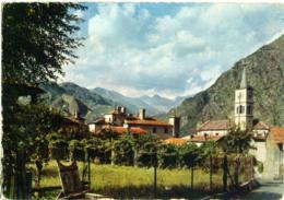 ISSOGNE  AOSTA  Panorama  Campanile - Italia
