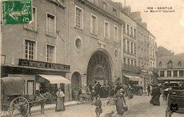 Saint - Lo -    Le  Marché - Couvert. - Saint Lo