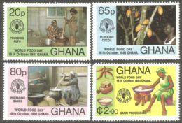 AL-30 Ghana Cacao Cocoa Kakao Food Nourriture Eten Essen Cibo Comida MNH ** Neuf SC - Alimentazione