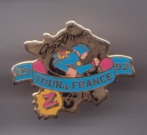Pin's Tour De France 1992 Greg Lémond Réf 397 - Cycling
