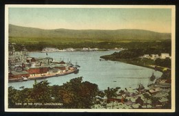 Londonderry. *View Of The Foyle* Nueva. - Dublin
