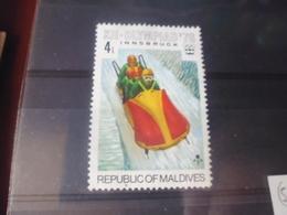 MALDIVES YVERT N°587 - Maldives (1965-...)