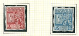 148/149 O.C. XX Timbre Neuf / Postfris MNH 2 V./W. O.C. 9,00€ - Ruanda-Urundi