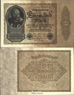Deutsches Reich Rosenbg: 81b, Firmendruck B Gebraucht (III) 1922 1000 Mark - [ 3] 1918-1933: Weimarrepubliek