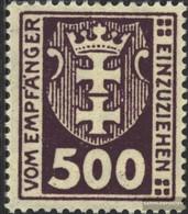 Danzig P19Y MNH 1923 Porto Brand - Dantzig
