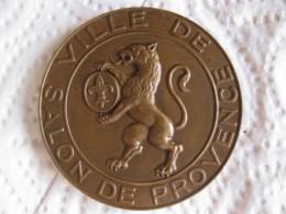 Médaille 1967 Ville De Salon Provence, Attribué à  PRA-LOUP COURSE 1969 - Ohne Zuordnung
