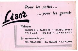 Buvard - LISOR Pour Les Petits, Pour Les Grands , LISOR Fabrique Blouses, Tabliers, Barboteuses ... - Kinder
