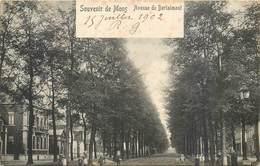 CPA BELGIQUE MONS Avenue De Bertaimont Précurseur Circulée En 1902 - Belgio