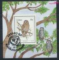 Südafrika - Ciskei Block6 (kompl.Ausg.) Gestempelt 1991 Eulen (9253076 - Ciskei