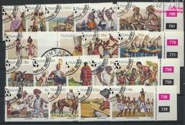 Südafrika - Transkei 137x-154x (kompl.Ausg.) Gestempelt 1984 Kultur Der Xhosa (9253086 - Transkei