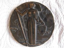 Médaille Centenaire De La Compagnie Générale Transatlantique 1855 - 1955 Par Marcel Renard - France