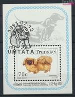 Südafrika - Transkei Block10 (kompl.Ausg.) Gestempelt 1993 Hunde (9253084 - Transkei