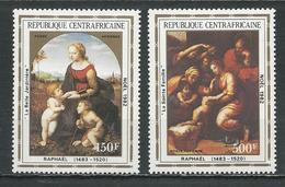 CENTRAFRIQUE  Scott C275-6 Yvert PA261-PA262 ** (2) Cote 7,50 $ 1982 - Centrafricaine (République)