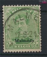 Belgische Post Malmedy 3A II, Ornament Nicht Gebrochen Gestempelt 1920 Albert I. (9252837 - Eupen & Malmedy