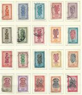 154/172 O.C. Oblitéré / Gestempeld / USED 20 V./W. O.C. 17,00€ - Ruanda-Urundi
