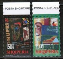 CEPT 2003 AL MI 2928-29 ALBANIA USED - Europa-CEPT