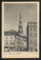 Riga. *Blick Auf Die Peltrikirche* Ed. K. Viburs Nº 50. Nueva. - Letonia