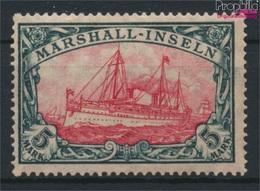 Marshall-Inseln (Dt. Kol.) 27B II Postfrisch 1919 Schiff Kaiseryacht Hohenzollern (9252879 - Colony: Marshall Islands