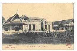 LAOS -  La Résidence Supèrieure à Vientiane     ##  RARE  ##    -   L 1 - Laos
