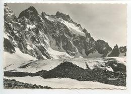 L'Ailefroide Et Le Col De La Temple Vus Du Glacier Noir (n°311 Francou) - France