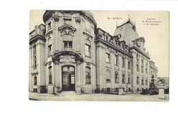 Cpa - 54 - Nancy -  Instituts De Mathématiques Et De Physique - - Nancy