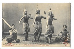 LAOS -  La Pantomime Laotienne Nang-Méo (3° Figure)      ##  RARE  ##    -   L 1 - Laos