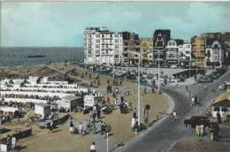 Knokke - Albert-Strand - Zeedijk - Circulé - Animée - TBE - Knokke