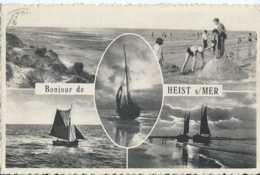 Knokke - Bonjour De Heist Sur Mer - Multivues - Circulé - Animée - TBE - Knokke