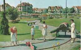 Knokke - Golf Miniature - Circulé - Animée - TBE - Knokke