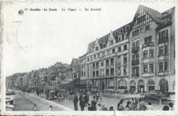 Knooke-Zoute - De Zeedijk - La Digue - Circulé En 1950 - Animée - BE Léger Défaut Bas - Knokke