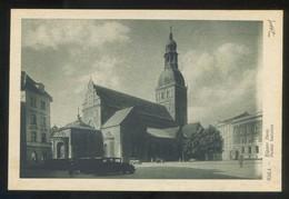 Riga. *Rigaer Dom* Ed. K. Viburs Nº 40. Nueva. - Letonia