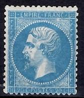 France YT N° 22 Neuf *. Gomme D'origine Signé Calves. B/TB. A Saisir! - 1862 Napoleon III