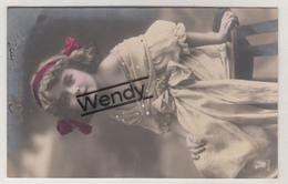 Enfant Portrait Filette Ellen N° 2195/2 - Foto Kind Origineel - Portraits