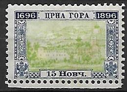 MONTENEGRO    -    1896.    Y&T N° 35 * - Montenegro