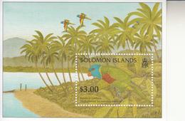 1996 Solomon Islands Lorries Birds Souvenir Sheet Of 1 MNH - Salomoninseln (Salomonen 1978-...)