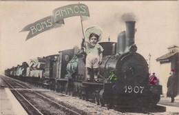 POSTCARD  BRASIL BRAZIL - BONS ANNOS 1907 - TRAIN- RAILWAY -  RAILROAD - Manaus