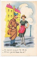 CPA - Themes - Militaria - Humoristiques - En Amour, Je Suis L'as Des As ... - Humoristiques