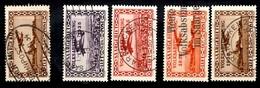 Sarre Poste Aérienne YT N° 4 Et N° 5/8 Oblitérés. B/TB. A Saisir! - Airmail